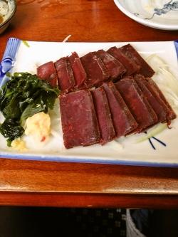 赤肉刺身皿盛りイメージ