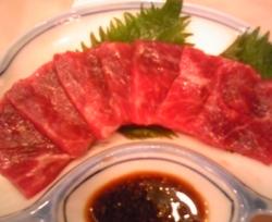 鯨赤肉(赤身刺身)120g(関太郎印のくじら)